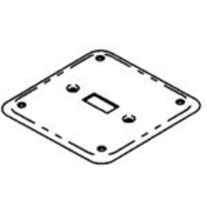 """Bowers 480-BW 4"""" Exposed Work Cover, (1) Toggle Switch"""