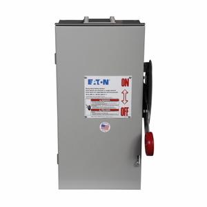Eaton DH261FRK Safety Switch, 30A, 2P, 600V/600DC, HD Fusible, NEMA 3R