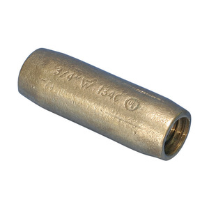 """nVent Erico CR34 Ground Rod Threaded Coupler, Copper, 3/4"""""""