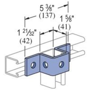 Unistrut P1047-EG U Shape Fitting