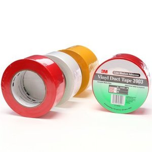 "3M 3903-GRAY-2X50YD Gray Duct Tape, Vinyl, 2"" x 50 Yards"
