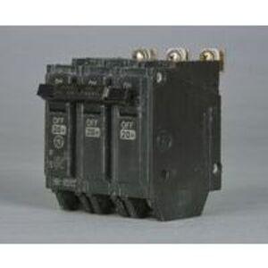 GE Industrial THHQB32100 Breaker, 100A, 240VAC, 3P, Bolt On, 22kAIC