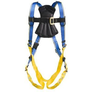 Werner Ladder H212004 Blue Armor 1000 Standard Harness, Tongue Buckle Legs (M/L)