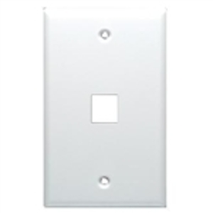 Ortronics KSFPR1 Wallplate TechChoice Box Mount 1-Port 1-Gang Fog White