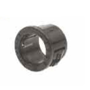 "Heyco 2201 Conduit Bushing, Insulating, 1-1/4"", Type Snap-In, Non-Metallic"