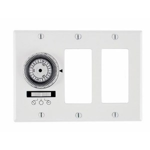 Intermatic KM2ST-3D Heavy-Duty Mechanical In-Wall Timer - 20 A