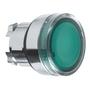 ZB4BW33 22MM ILLUM PB HEAD GRN EXT LED
