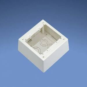 Panduit JBP2DIW 2-Gang, 2-Piece, Deep Outlet Box