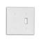 80706-W WH WP 2G 1TGL/1 BLANK STRAP MNT