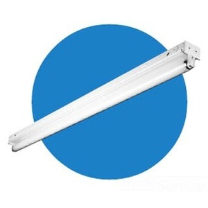 Hubbell-Columbia Lighting CH8-132-EU Heavy Duty Strip, 8', 1-Lamp, T8, 32W