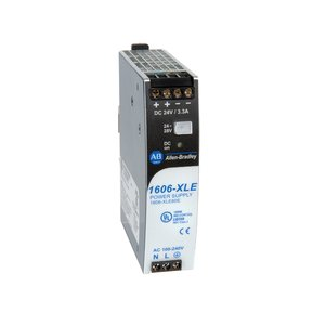 Allen-Bradley 1606-XLE80E Power Supply, 80W, 24 - 28VDC, Output, 120VAC Input