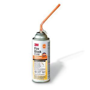 3M FB-FOAM-ORANGE Orange Fire Blocking Foam, 12 Oz. Aerosol Can, Class 1