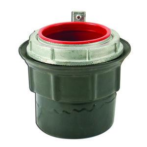 "Plasti-Bond PRSTG7 Conduit Hub, Type: Grounding, 2-1/2"", PVC Coated Steel"