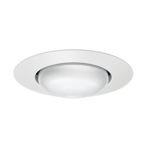 Juno Lighting 201-WH 5IN TRIM OPEN FRAME BR30