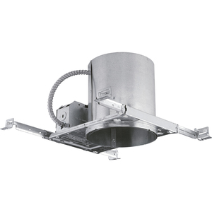 "Progress Lighting P87-LED IC/Non-IC Housing, 6"", LED, Air Tight"