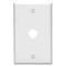 86017 IVO WALLPLT 1G TEL/CBL ,325 HOLE,