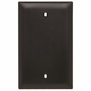 ON-Q TP13-BK Blank, 1-Gang, Nylon, Black, Standard