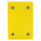 WP459 YEL BLANK PLATE AND GASKET