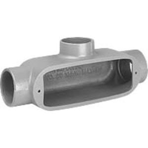 """Hubbell-Killark OT-1 Conduit Body, Type: T, 1/2"""", Series 5, Aluminum"""
