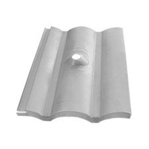 Quick Mount PV QMC-TRF-W-A-12 Tile Replacement Flashing for Tile Hooks, W-Shape Tile