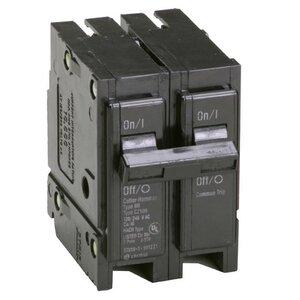Eaton BR220 Breaker, 20A, 2P, 120/240V, Type BR, 10 kAIC