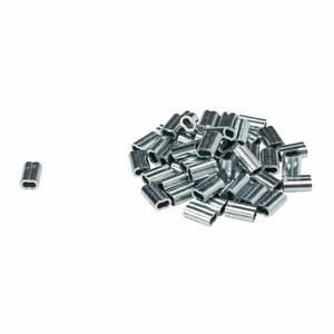 38090 ZINC PLATED LOOP FERRULES   50/PK
