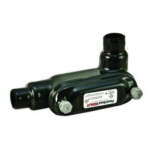 "Plasti-Bond PRHLR28 Conduit Body, Type: LR, FM8, Size: 3/4"", PVC Coated Iron"