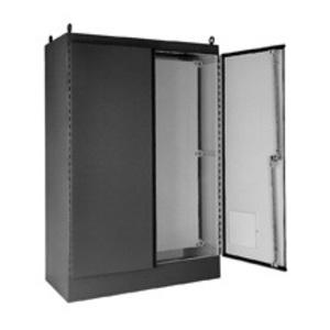 Eaton B-Line 604818-12FSD TYPE 12 DOUBLE-DOOR FREE-STANDING ENCLOSURE 60X48X18