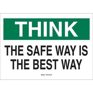 25340 SAFETY SLOGANS SIGN