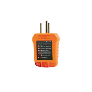 RT110 RECEPTACLE TESTER