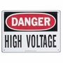 44863 SIGN 'DANGER HIGH VOLTAGE' 7X10