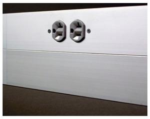 Wiremold AL4320B-1000 AL4320 BASE 120IN BLANK