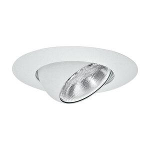 "Elite Lighting B602WH Eyeball Trim, 6"", White"