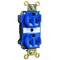 Pass & Seymour PT8300-BL PS PT8300-BL HOSP GRD EHD DUP
