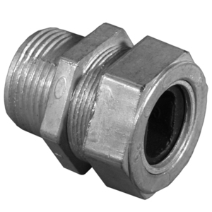 Appleton WC-1253 Box Connector, 1-1/4 Inch, SEU Type , Zinc Die Cast