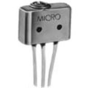 Micro Switch 5SE1-6 Switch, Sealed, Oil Resistant, Top Push Pin, 5A, 125/250VAC, 1PDT