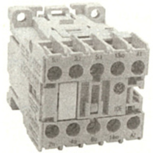 GE MC1C310ATD Contactor, Miniature, 9.0A, 3P, 24VDC Coil, 600VAC Rated, 1NO