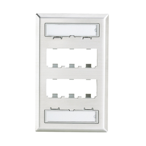 CFPL6SY CLASSIC STAINLESS FACEPLATE 6P