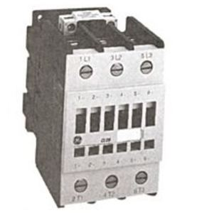 ABB CL08A300M1 Contactor, IEC, 80A, 460VAC, 3P, 24VAC Coil, No Auxiliary