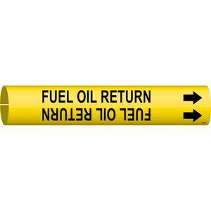 4064-A 4064-A FUEL OIL RETURN/YEL/STY A
