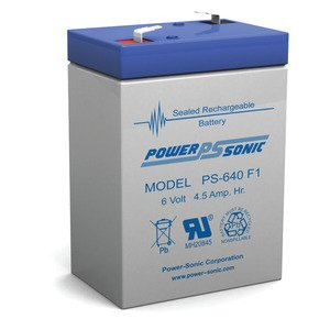 Power-Sonic PS-640 BACKUP BATTERY *** Discontinued ***