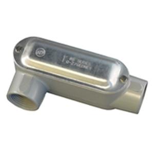 "Appleton LR-200ACGA Conduit Body With Cover/Gasket, Type LR,  2"", Aluminum"