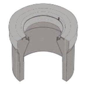 """Oldcastle Precast 1000455 Concrete Extension, G08x12"""""""