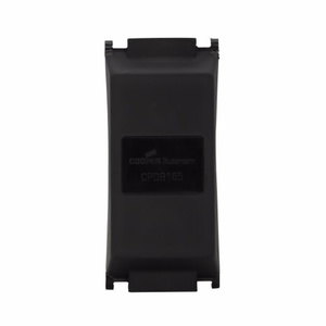 Eaton/Bussmann Series CPDB-1 One-Pole Power Distribution Block Cover, 163 Series