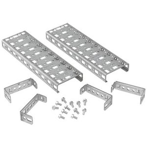 nVent Hoffman P2G1R4 G2 Horiz, Bracket-Mount Grid Strap, 1 Row, 400mm