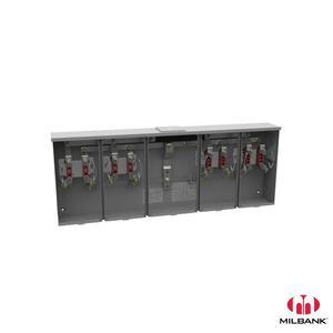 Milbank U1254-X 200A 4T RL 4P CTR WY