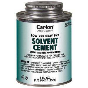 Carlon VC9LV2 1 QT GRAY LOW VOC PVC CEMENT