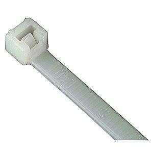 """Thomas & Betts L-4-18-9-M Cable Tie, Miniature, UV Black Nylon, 4"""" Long, 1000/PK"""