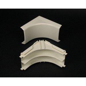Wiremold 2317DFO-WH Internal Elbow, 90°, Non-Metallic, White