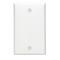 80714-W BLANK WHITE PLATE